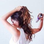 Finish with hair spray.