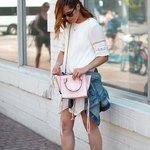 White Summer Dress Sporty Look