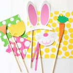 Imagine your kids' cute faces behind these props!
