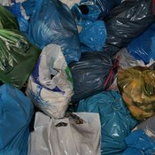 Plastic bags are made biodegradable materials, but they are more expensive to produce.