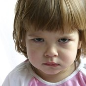 Your child may be uncooperative when taking antibiotics.