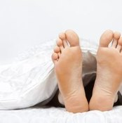 Burning feet syndrome can make your feet feel like they're on fire.