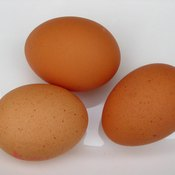 """Eggs are high in """"good"""" (HDL) and """"bad"""" (LDL) cholesterols."""