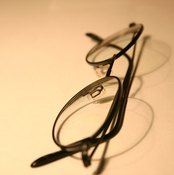 Remove scratches from glasses for optimal vision.