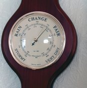 Changes in barometric pressure can affect our bodies