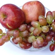 Simple sugars, a characteristic of carbohydrates, are found in fruit.