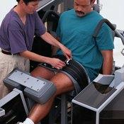 Leg extensions isolate your quadriceps.