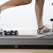 Ankle weights can increase the intensity of your cardio workout.