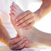 Relaxation is one benefit of foot massage.