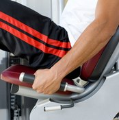 Make sure your seat is placed at the correct setting before beginning the leg press.