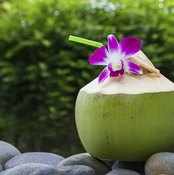 Up your fiber intake with coconut water.