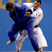 Judo competitors have only three components to their uniforms.