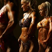 Women need to bulk up for bodybuilding competitions.