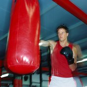 Hitting the heavy bag is a key part of any boxing workout.