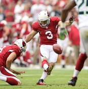Many NFL kickers can boot 50-yard field goals.