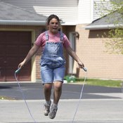 Jumping rope is a fun aerobic activity no matter your age.