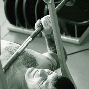 The free weight bench press is great for functional training.