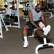 Weight bench tears can be irritating against the skin.