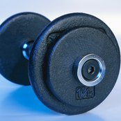 Use dumbbells, barbells, bands and your body weight to vary your workout combinations.