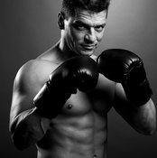Shadow boxing can be a great way to drop weight.