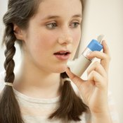Teens may use inhalers to reduce inflammation that inhibits respiration.