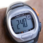 You can track improvements in your cardiovascular fitness with a heart rate monitor.