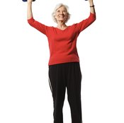 Replace dumbbells with Thera-Band reistance bands.