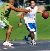 Move from weightlifting to plyometrics training to prepare for basketball.
