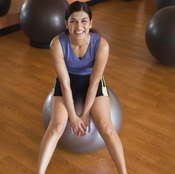 Stability balls can make your workout more enjoyable.