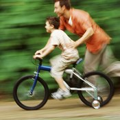 Size 12 bikes will typically feature training wheels.