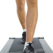 Walking on a treadmill is good for your health.
