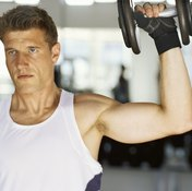 Dumbbells force you to strengthen each side of your body.