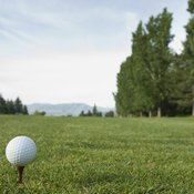 Get out on the green, without a cart, to burn calories.