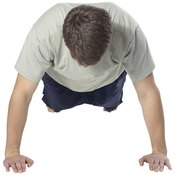 Start the spider crawl from a pushup position.