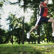 Jogging works your entire body.