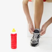 Lace up your running shoes and begin a running routine.