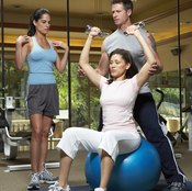 Building lean muscle leads to more calories being burned.