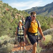 Hiking at Huachuca is scenic, but canyon terrain poses a challenge.