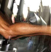 With every step you take, your calf muscles raise your body weight.