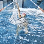 A strong upper body is crucial to excelling at the backstroke.