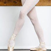 Ballet dancers have highly toned legs.