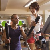 Using an elliptical trainer helps strengthen your thighs.