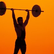 Military presses strengthen your shoulders.