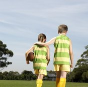 Playing on a team exposes children to different people and different points of view.