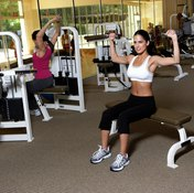 Plan for several feet of open space around your weight bench.