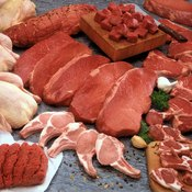 Ketogenic diets contain lots of meat, along with fish, eggs, vegetables and nuts.