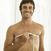 Healthy foods and exercise help slim your chest.