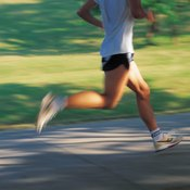 Through training, an athlete's body physiologically changes to maintain a lower heart rate.