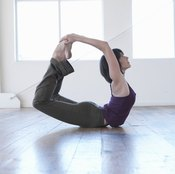 Bow pose strengthens your lower back.