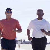Cardio exercises such as jogging improve your heart health.
